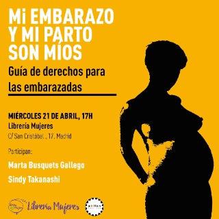 Mi embarazo y mi parto Madrid